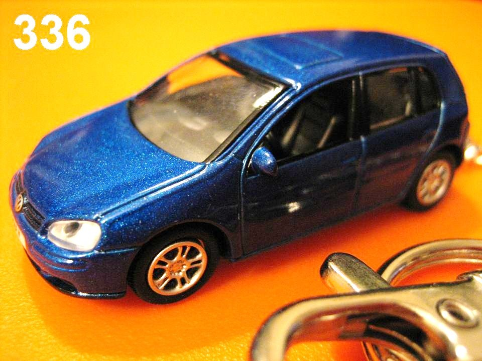 Golf V (Metallic Blue) Die-cast Key Chain